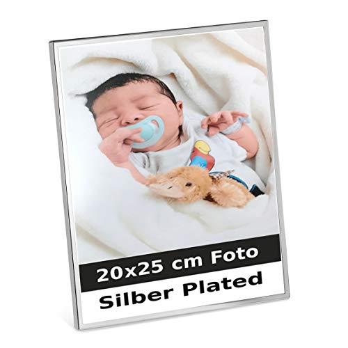 silberkanne Occasions Direct Frames - Cornice portafoto placcata in Argento, 20 x 25 cm