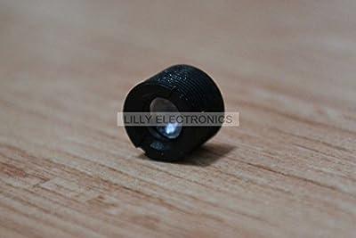 Q-BAIHE Plastic Collimating Lens w/Holder for 200-1100nm Full-Wavelength Laser M9x0.5