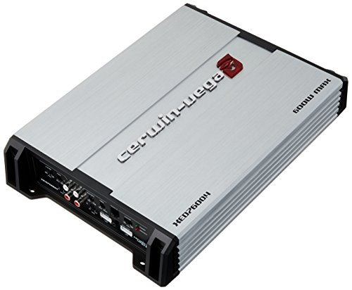 Cerwin Vega XED7600.4 600W Class-A/B 4-Channel 2Ω Stable Amplifier w/Remote Level Control Knob