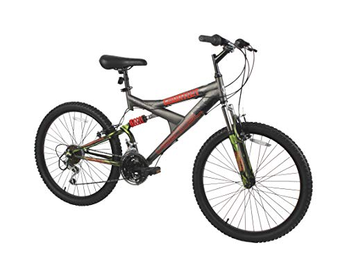 Dynacraft Vertical Gauntlet 24' Bike, Firestorm Blue