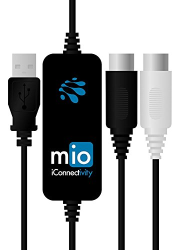 iConnectivity mio 1-in 1-out USB to MIDI Interface for Mac and PC