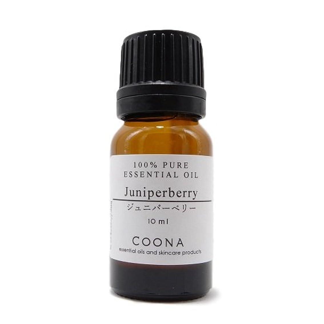 パブ降下メディックジュニパーベリー 10 ml (COONA エッセンシャルオイル アロマオイル 100%天然植物精油)