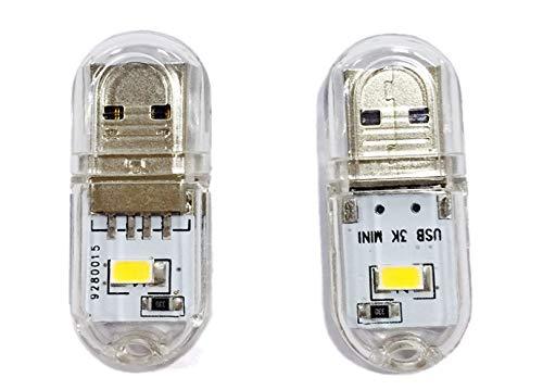 5Pcs Mini-Usb-Nachtlicht Im Freien Kampierendes Licht Usb-Handgepäck-Geschenklicht