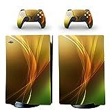 AXDNH Piel para Consola De Juegos PS5, Adhesivo De Cuerpo Completo Gamepads Calcomanía De PVC para Controlador PS5 Y Accesorios De Fundas Protectoras De Consola Playstation 5,0397