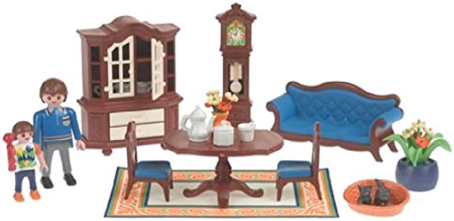 Of Playmobil House Doll House Living Room 5327 miniature model