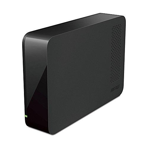 BUFFALO USB3.1(Gen1)/3.0/2.0対応 PC/家電対応 外付けHDD 2TB ブラック HD-LC2.0U3-BKF
