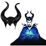 SKJIND Maleficent Kostüm Hörner Halloween Cosplay