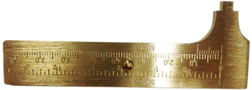 Totally Tools Brass Millimeter Gauge