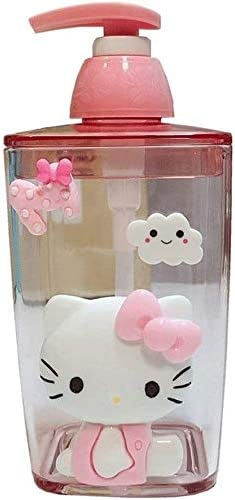 Empty Shampoo Bottles Soap Cute Animer and price revision with San Antonio Mall Pu Dispenser