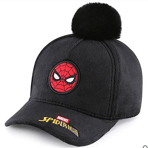 PRETAY Sombrero de béisbol Spider Man,Gorra Avengers Capitán América para Niños Gorra Avengers para Niños,Marvel Avengers Infinity War Béisbol Kappy (Color : Spiderman, Size : S(52CM))