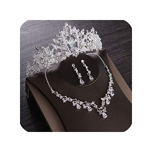 Tiara de novia para novia, diseño de corona de cristal, corona, accesorios para el cabello, joyas para novia, oro plateado, rosa, tiaras y coronas para niña, tiara, clip para tiara, clip para tiara.