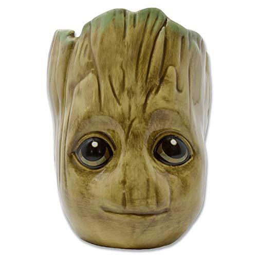 Guardians of the Galaxy 3D Tasse Baby Groot - braun, Bedruckt, 100% Keramik, Fassungsvermögen ca. 454 ml.