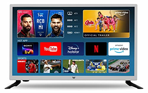 VW (24 inches) HD Ready Smart LED TV