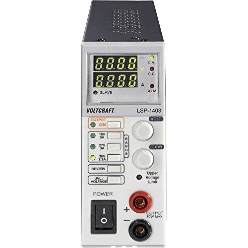 Voltcraft LSP-1403 Labornetzgerät, einstellbar 0-36 V/DC 0-5A 80W Master/Slave-Funktion Anzahl