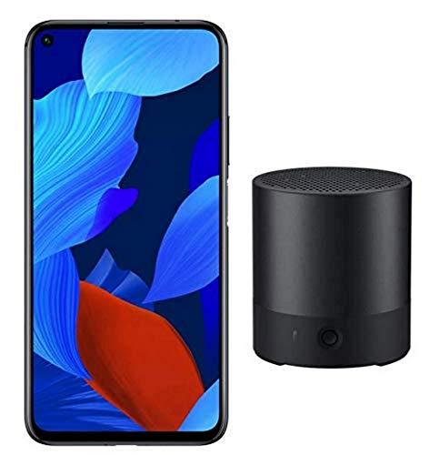 Pack Huawei Nova 5T Smartphone débloqué 4G + enceinte CM510 (6,26 pouces - 128Go - Double Nano-SIM - Android 9) Noir