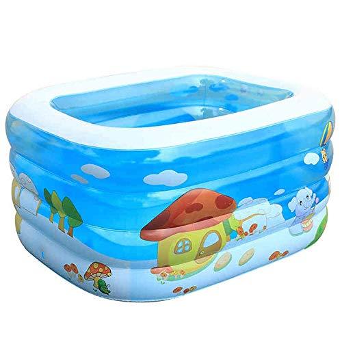 Barir Babyschwimmbadkinder aufblasbares verdickendes Babybabymarin-Ballpool der großen Kinder