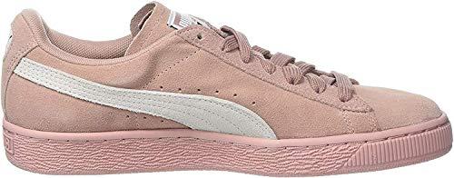 Puma Damen Suede Classic Wn's Sneaker, Beige (Peach Beige-Puma White), 41 EU