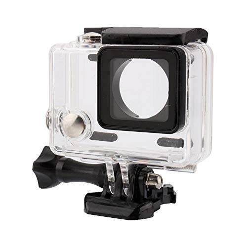 Estuche Impermeable, Transparente a Prueba de Golpes Buceo Resistente al Agua Carcasa de la Carcasa de la cámara para Gopro Hero 4/3 +/3