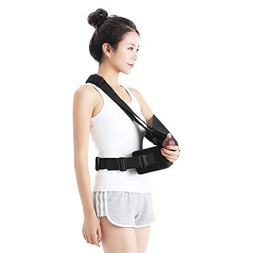 WDDMFR Schulterabduktionskissen Cuff Sling Immobiliser Schulterrotator mit Gymnastikball Geeignet für Unisex