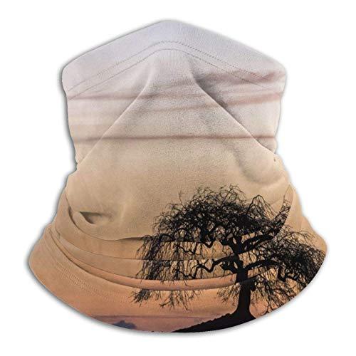 Ives Jean Lone Tree - Braga elástica para el cuello de microfibra para hombre y mujer