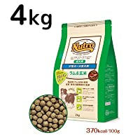 NUTRO NATURAL CHOICE(ニュートロナチュラルチョイス)中型犬~大型犬用【成犬用】ラム&玄米4kg 2個セット