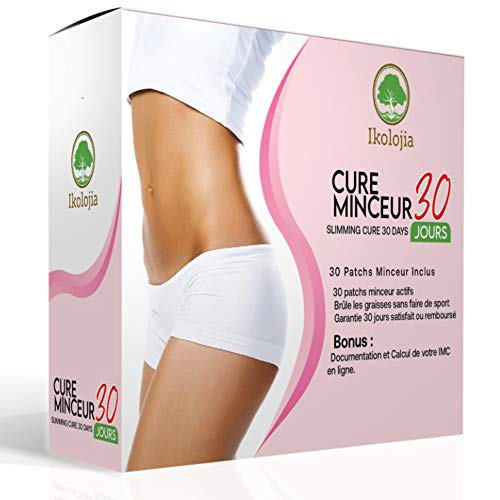 Weight Loss Patches (30 pces) | Fat Burner | Beer Belly, Buckets Waist | Slimming Patches for Weight Loss | Slim Patch Weight Loss Burning Fat Patch | Magnetic Stickers | Instructions for Use On line