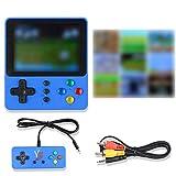 Colmanda Consola de Juegos Portátil, LCD 3 Pulgadas Consola Retro, 500 Juegos, Soporte Conectar TV,...