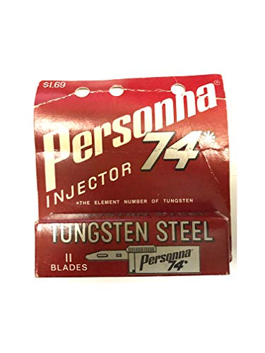 Personna (r), Injector 74*, Tungsten Steel, 11 Blades, Made in USA Limit 1 Per Customer