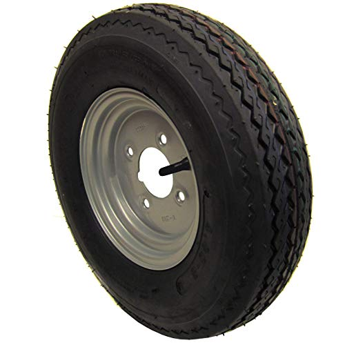 AB Tools Rueda y neumático de Remolque 400 x 8 de 4 Capas 4