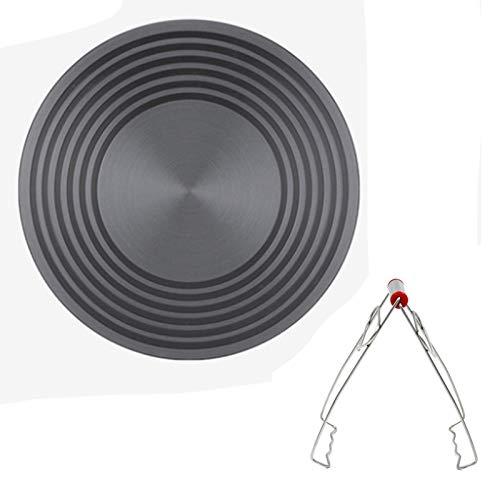 Wärmeleitungsplatte Auftauplatte Schnelle Abtauplatte Energiesparende Gasherd Wärmeübertragungsleitung Lebensmittel (Verbrühungsschutzclip) (280mm*4mm)