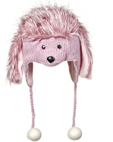 Knitwits Precious the Poodle Pilot Hat