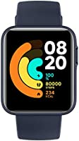 Xiaomi Mi Watch Lite akıllı saat, lacivert (mavi)