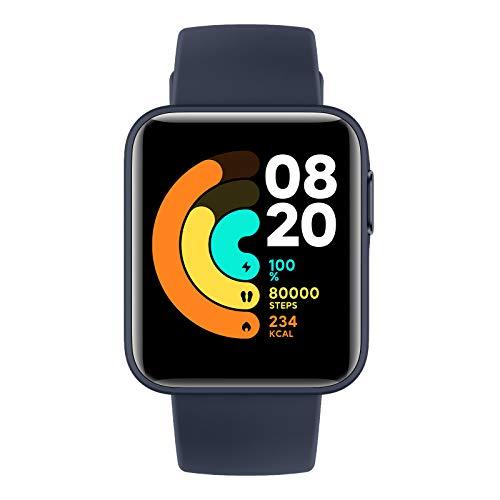 Xiaomi Mi Watch Lite - Reloj inteligente , GPS, control frecuencia cardíaca, 11 modelos de entrenamiento, Azul (Navy Blue)