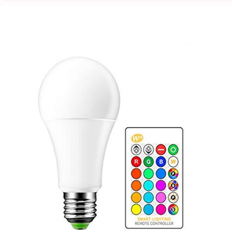 E27 LED 10/15 W 16 LED-lampen, 220 V 110 V magische lamp met kleurverandering RGB Intelligente lamp met afstandsbediening dimbaar + IR-afstandsbediening