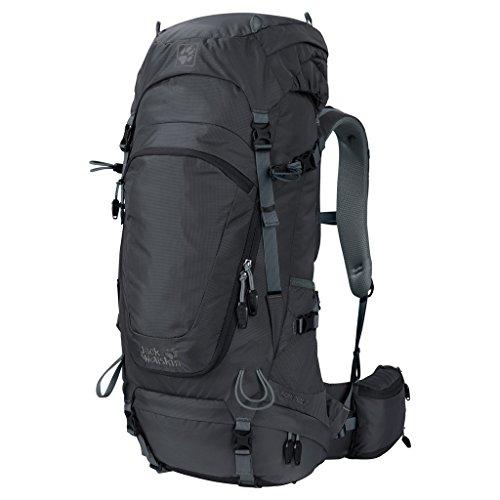 Jack Wolfskin Herren Highland Trail 42 Wandern Outdoor Trekking Rucksack, Phantom, 63x31x17 cm