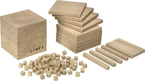 Linex de madera reciclada Base 10 contar Kit