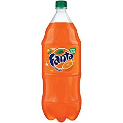 Fanta Orange Soda Fruit Flavored Soft Drink, 67.6 Fl Oz
