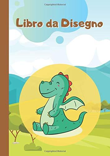 Libro da Disegno per Bambini: 96 pagine bianche quaderno per bambini dai 4 agli 8 anni