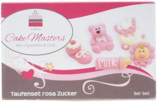 Cake Masters Taufenset Zucker rosa, 1er Pack (1 x 10 g)
