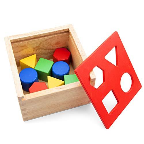 New Classic Toys Boîte à Formes Cube Jeu Éducatif pour Enfants