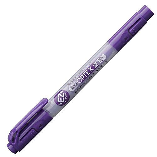 ゼブラ 蛍光ペン 蛍光オプテックス2 EZ WKT11-PU 紫