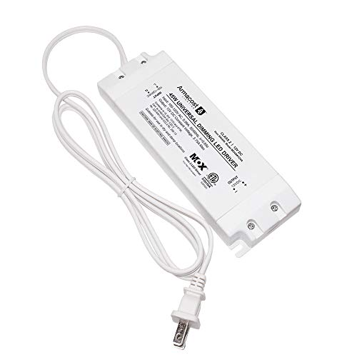 Armacost Lighting 840450 for LED Lighting, with Removable AC Cord, 45 Watt