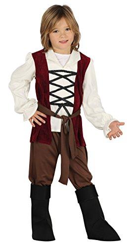 Guirca–Costume posadero, taglia 10–12anni, 87506.0