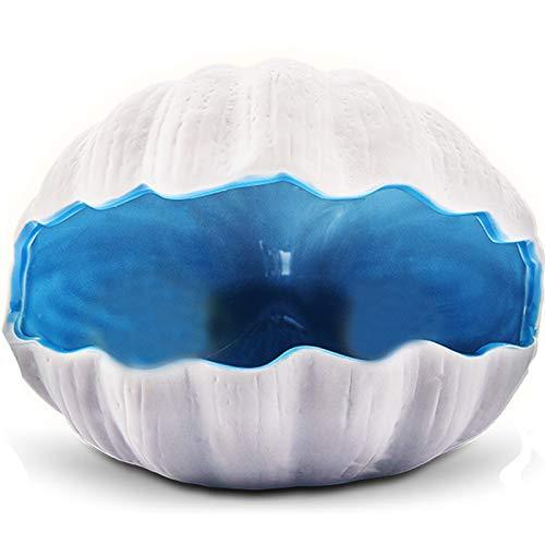 ハムスターのおへや ハムスター用ハウス 涼感ハウス 小動物用 ベッド (貝殻) 水槽の装飾 水槽の美化 熱帯魚 金魚 隠れ家