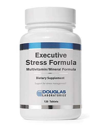 Douglas Laboratories - Executive Stress Formula - Vitamins, Minerals, Enzymes, and Herbals to Support Body's Defense Against Stress - 120 Tablets