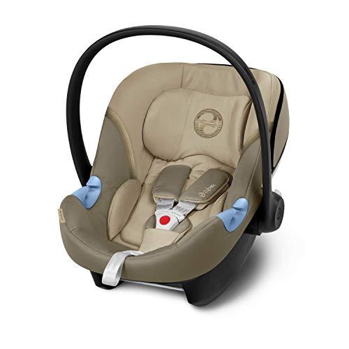 CYBEX Gold Seggiolino Aton M, Incl. riduttore per neonato, Dalla nascita fino a ca. 24 mesi, Max. 13 kg, Beige (Classic Beige)