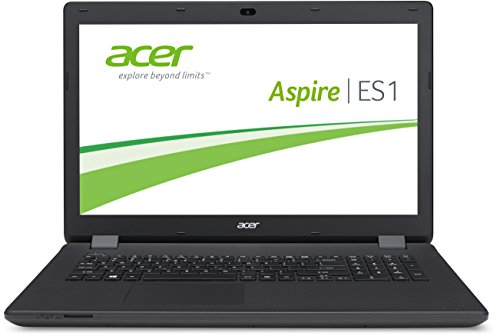 Acer Aspire ES1-711-P7HS 43,9 cm (17,3 Zoll HD+) Laptop (Intel Pentium N3540, 2,66GHz, 4GB RAM, 500GB HDD, Intel HD Graphics, DVD, Win 8.1) schwarz