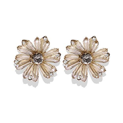 didi Pendientes de flor creativos de moda son adecuados para todo tipo de fiestas de baile que se pueden dar a amigas