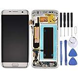JIANGGALAY para repuestos Galaxy For Galaxy S7 Edge / G935A Pantalla LCD New y ensamblaje Completo del digitalizador con Marco y Tablero de Puertos de Carga y botón de Volumen y botón de Encendido