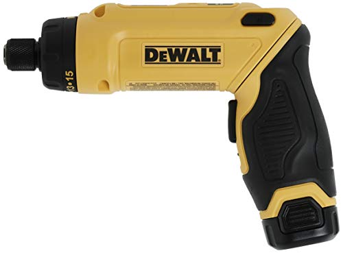 Product Image of the DEWALT 8V MAX Cordless Screwdriver Kit, Gyroscopic, 2 Batteries (DCF680N2)